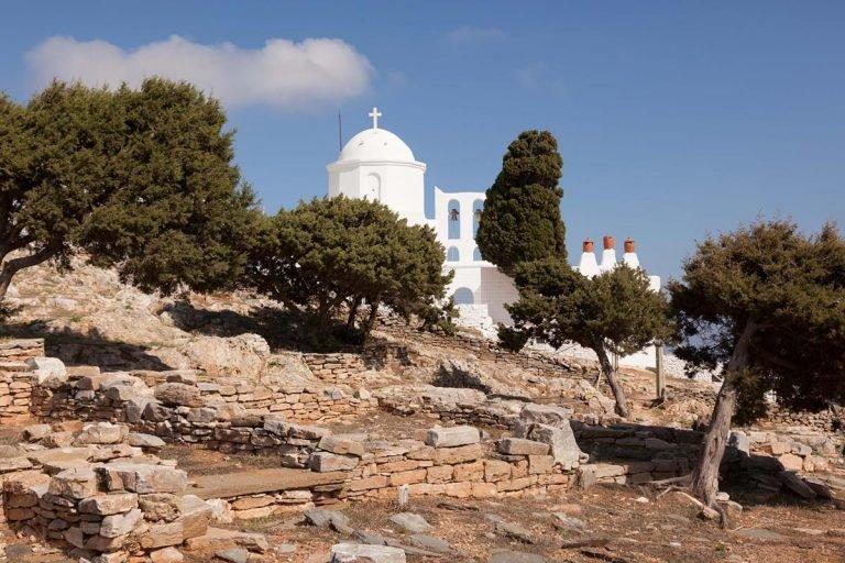 The citadel of Agios Andreas